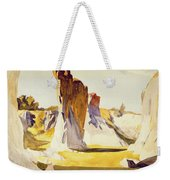 Lime Rock Quarry II Weekender Tote Bag by Edward Hopper