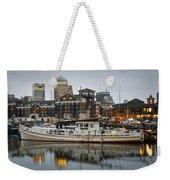 Limehouse Basin. Weekender Tote Bag
