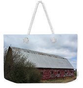 Limestone County Red Barn Weekender Tote Bag