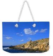 Limestone Rock, Mediterranean Sea, Malta Weekender Tote Bag