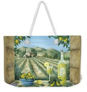 Limoncello Weekender Tote Bag by Marilyn Dunlap