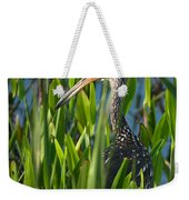 Limpkin Grass Weekender Tote Bag