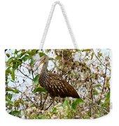 Limpkin In A Tree Weekender Tote Bag
