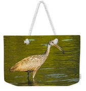 Limpkin With A Snack Weekender Tote Bag