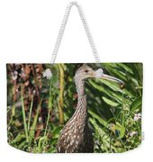 Limpkin With An Apple Snail Weekender Tote Bag