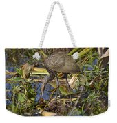 Limpkin With Lunch Weekender Tote Bag