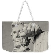 Lincoln - 3463 On The Train Weekender Tote Bag