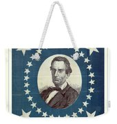 Lincoln 1860 Presidential Campaign Banner - Bust Portrait Weekender Tote Bag