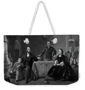Lincoln And Family Weekender Tote Bag