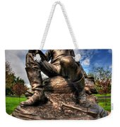 Lincoln At Delaware Park  Weekender Tote Bag
