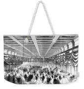 Lincoln Ball, 1865 Weekender Tote Bag