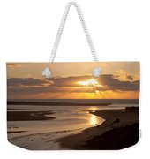 Lincoln City Sunset Weekender Tote Bag by John Daly