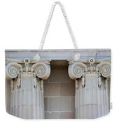 Lincoln County Courthouse Columns Weekender Tote Bag