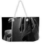 Lincoln In Black And White Weekender Tote Bag