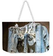 Lincoln In Memorial Weekender Tote Bag