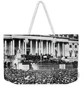 Lincoln Inauguration, 1861 Weekender Tote Bag