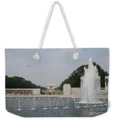 Lincoln Memorial And Fountain - Washington Dc Weekender Tote Bag