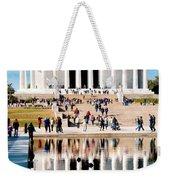 Lincoln Memorial Weekender Tote Bag by Greg Fortier