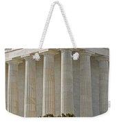 Lincoln Memorial Pillars Weekender Tote Bag