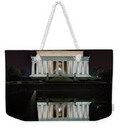 Lincoln Reflection Weekender Tote Bag
