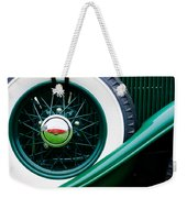 Lincoln Spare Tire Emblem Weekender Tote Bag