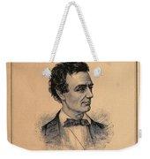Lincoln Temperance, 1842 Weekender Tote Bag