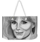 Linda Evans In 1984 Weekender Tote Bag