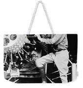 Lindbergh Tunes Up Plane Weekender Tote Bag