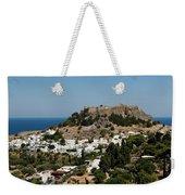 Lindos Acropolis Looking Seaward Weekender Tote Bag