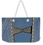 Line Design Weekender Tote Bag