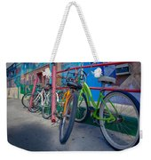Line Em Up Weekender Tote Bag