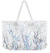 Line Forest Weekender Tote Bag
