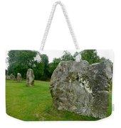 Line Of Avebury Stones Weekender Tote Bag