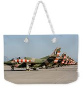 Line-up Of Hellenic Air Force T-2 Weekender Tote Bag