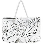 Linear Expression Weekender Tote Bag