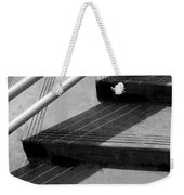 Linear In Four Four Time Weekender Tote Bag