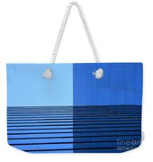 Squared Reflection Weekender Tote Bag