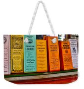 Liniments From 1864 Weekender Tote Bag