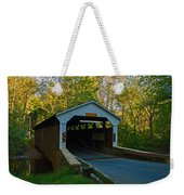 Linton Stevens Covered Bridge Weekender Tote Bag