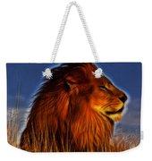 Lion - King Of Animals Weekender Tote Bag