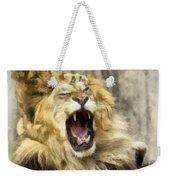 Lion 15 Weekender Tote Bag