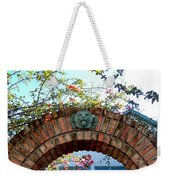 Lion Arch With Flowers Weekender Tote Bag