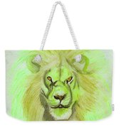 Lion Green Weekender Tote Bag