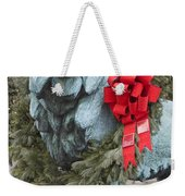 Lion In Winter Weekender Tote Bag