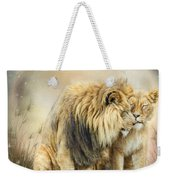 Lion Kiss Weekender Tote Bag