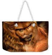 Lion Man Weekender Tote Bag