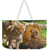 Lion Mates Weekender Tote Bag