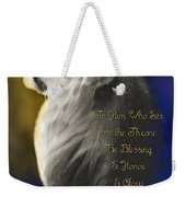 Lion Adoration Weekender Tote Bag