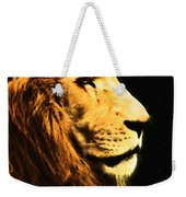 Lion Paint 2 Weekender Tote Bag