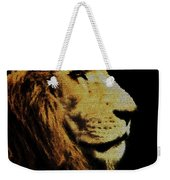 Lion Paint Weekender Tote Bag